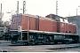 """MaK 1000654 - DB """"290 379-7"""" 26.03.1980 - Wanne-EickelMartin Welzel"""