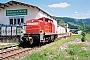 """MaK 1000660 - Railion """"294 885-9"""" 07.05.2008 - Hausach, BahnhofSteffen Hartz"""