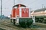 "MaK 1000668 - DB ""290 393-8"" 00.05.1989 - Moers, RangierbahnhofRolf Alberts"