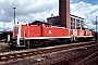 """MaK 1000676 - DB """"290 401-9"""" 05.09.1993 - Regensburg, BahnbetriebswerkErnst Lauer"""