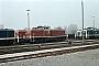 "MaK 1000691 - DB ""291 009-9"" 28.03.1982 - Hamburg-Wilhelmsburg, BahnbetriebswerkNorbert Lippek"