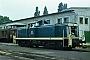 "MaK 1000718 - DB ""291 036-2"" 13.07.1983 - Bremen, AusbesserungswerkNorbert Lippek"