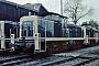 "MaK 1000734 - DB ""291 061-0"" 06.11.1977 - Bremen, Bahnbetriebswerk Bremen RbfNorbert Lippek"