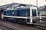 "MaK 1000745 - DB ""291 072-7"" 18.06.1977 - Bremen, HauptbahnhofNorbert Lippek"
