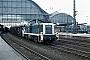 "MaK 1000749 - DB ""291 076-8"" 19.03.1982 - Bremen, HauptbahnhofNorbert Lippek"