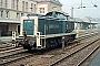 "MaK 1000771 - DB ""291 098-2"" 06.08.1982 - Osnabrück, HauptbahnhofHeinrich Hölscher"