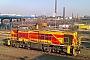 """MaK 1000854 - TKSE """"521"""" 31.01.2012 - Duisburg-Hamborn, TKSELucas Ohlig"""