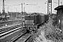 "MaK 360010 - DB ""236 401-6"" 15.07.1968 - Gießen, RangierbahnhofHelmut Philipp"