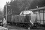 """MaK 400004 - GBG """"272"""" 24.04.1962 - Bad Grund, BahnhofWolfgang Illenseer"""
