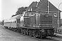 """MaK 500012 - KSE """"V 61"""" 30.07.1976 - Schönberg (Holstein)Claus Tiedemann"""