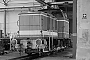 """MaK 500023 - RLG """"D 64"""" 21.01.1981 - Lippstadt, WLE-HauptwerkstattChristoph Beyer"""
