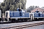 "MaK 600026 - DB ""260 106-0"" 24.07.1987 - Kassel, AusbesserungswerkNorbert Lippek"