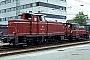 """MaK 600034 - DB """"260 114-4"""" 16.07.1981 - TraunsteinWerner Brutzer"""