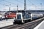 "MaK 600038 - DB ""360 118-4"" 01.08.1988 - München, HauptbahnhofNorbert Lippek"