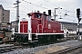 "MaK 600038 - DB ""360 118-4"" 01.08.1990 - Nürnberg, HauptbahnhofNorbert Lippek"