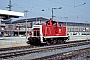 "MaK 600038 - DB ""360 118-4"" 10.03.1992 - Nürnberg, HauptbahnhofWerner Brutzer"