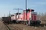 "MaK 600047 - DB Cargo ""360 127-5"" 16.03.2003 - EspenhainRalph Mildner"