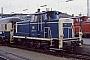 """MaK 600051 - DB """"260 131-8"""" 10.02.1981 - München, HauptbahnhofBrian Daniels"""