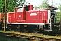 """MaK 600059 - DB Cargo """"360 138-2"""" 01.05.2000 - Chemnitz, AusbesserungswerkManfred Uy"""