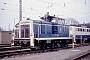 """MaK 600059 - DB """"360 138-2"""" 10.03.1991 - Seelze, BahnbetriebswerkWerner Brutzer"""