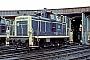 """MaK 600070 - DB """"260 149-0"""" 21.05.1987 - NürnbergWerner Brutzer"""