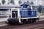 """MaK 600087 - DB """"260 166-4"""" 19.09.1987 - Heidelberg, HauptbahnhofErnst Lauer"""