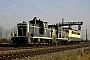 """MaK 600087 - DB """"360 166-3"""" 30.11.1989 - Mannheim-FriedrichsfeldWerner Brutzer"""