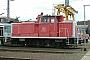 """MaK 600106 - DB Cargo """"360 008-7"""" 31.08.2003 - Osnabrück, BetriebshofKlaus Görs"""