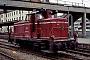 """MaK 600108 - DB """"260 010-4"""" 22.11.1981 - Ulm, HauptbahnhofWerner Brutzer"""