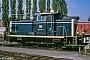 """MaK 600115 - DB """"360 017-8"""" 00.04.1990 - Düsseldorf-DerendorfRolf Alberts"""