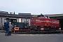 """MaK 600157 - OHE """"60022"""" 30.04.1996 - Celle, Bahnbetriebswerk Celle NordJens Grünebaum"""