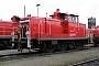 """MaK 600173 - Railion """"362 415-2"""" 17.10.2004 - Mannheim, Railion BetriebshofErnst Lauer"""