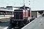 "MaK 600181 - DB ""260 423-9"" 17.08.1981 - Ulm, HauptbahnhofNorbert Lippek"