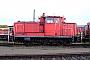 """MaK 600194 - DB Schenker """"363 436-7 """" 28.03.2009 - Hagen-Vorhalle, BetriebshofPeter Gerber"""