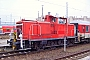 """MaK 600204 - DB Schenker """"363 446-6"""" 24.01.2011 - Berlin-LichtenbergBernd Gennies"""