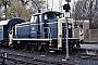"MaK 600205 - DB ""260 447-8"" 12.04.1985 - Kassel, AusbesserungswerkNorbert Lippek"