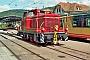 "MaK 600205 - Privat ""V 60 447"" 10.09.2017 - Bad Herrenalb, BahnhofSteffen Hartz"