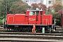 """MaK 600212 - Railion """"365 623-8"""" 10.10.2005 - Ulm, HauptbahnhofErnst Lauer"""