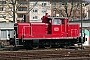 """MaK 600212 - DB Fahrwegdienste """"363 623-0"""" 02.04.2009 - MannheimErnst Lauer"""