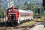 """MaK 600217 - DB Schenker """"363 628-9 """" 23.08.2011 - Basel Bad, BahnhofRalf Lauer"""