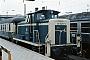 "MaK 600218 - DB ""261 629-0"" 26.08.1981 - München, HauptbahnhofNorbert Lippek"