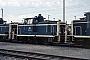 "MaK 600218 - DB ""261 629-0"" 20.10.1984 - München, Bahnbetriebswerk München HbfNorbert Lippek"