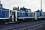 "MaK 600218 - DB ""261 629-0"" 19.07.1985 - Kassel, AusbesserungswerkNorbert Lippek"
