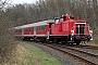 """MaK 600224 - DB Schenker """"363 635-4"""" 02.01.2012 - Kiel-GaardenTomke Scheel"""