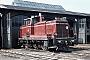 "MaK 600227 - DB ""261 638-1"" 07.09.1980 - Delmenhorst, BahnbetriebswerkNorbert Lippek"