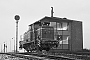 "MaK 600227 - DB ""V 60 638"" 03.02.1962 - Bremen, RangierbahnhofWolfgang Illenseer"