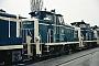 "MaK 600228 - DB ""261 639-9"" 04.04.1986 - Kassel, AusbesserungswerkNorbert Lippek"