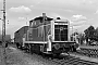 """MaK 600230 - DB """"261 641-5"""" 18.08.1986 - Verden (Aller), Übergabegleis zur Verden-Walsroder EisenbahnChristoph Beyer"""
