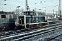 "MaK 600233 - DB ""261 644-9"" 17.12.1976 - Bremen, HauptbahnhofNorbert Lippek"