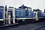 "MaK 600234 - DB ""261 645-7"" 19.07.1985 - Kassel, AusbesserungswerkNorbert Lippek"